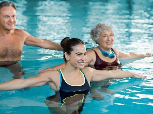 Lợi ích tập thể dục dưới nước