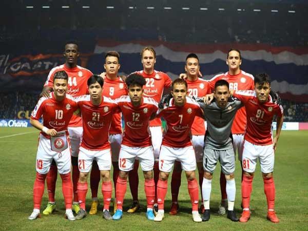 Đội hình của câu lạc bộ bóng đá thành phố Hồ Chí Minh