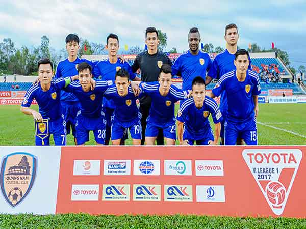Đội hình hiện tại của CLB Quảng Nam
