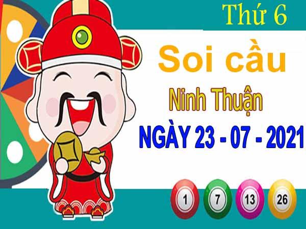 Soi cầu XSNT ngày 23/7/2021 đài Ninh Thuận thứ 6 hôm nay chính xác nhất