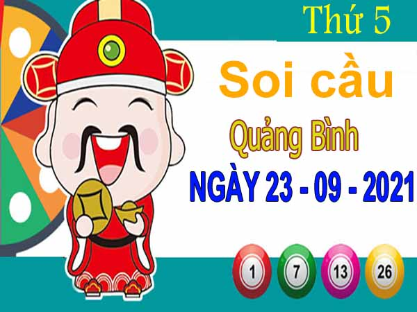 Soi cầu XSQB ngày 23/9/2021 – Soi cầu đài xổ số Quảng Bình thứ 5