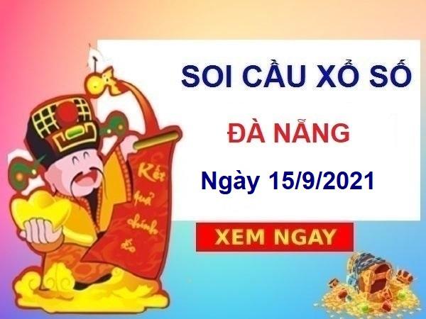Soi cầu XSDNG ngày 15/9/2021 chốt số Đà Nẵng thứ 4